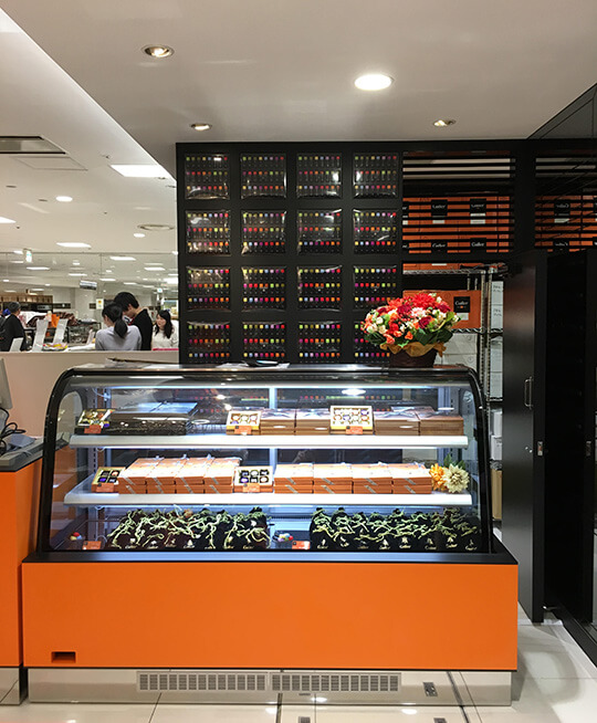 Galler(ガレー)大丸福岡天神店販売ブースの写真